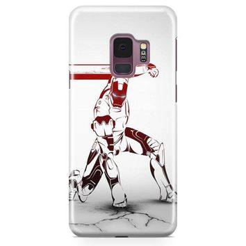 Iron Man Stark House Samsung Galaxy S9 Case | Casefantasy