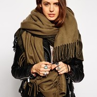 ASOS Oversized Color Block Scarf