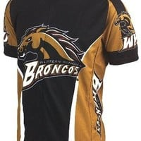 NCAA Men's Adrenaline Promotions Western Michigan Broncos Road Cycling Jersey