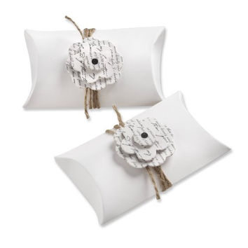 Kate Aspen Set of 24 Flowering Pillow Favor Box, Love Letter (Discontinued by Manufacturer)