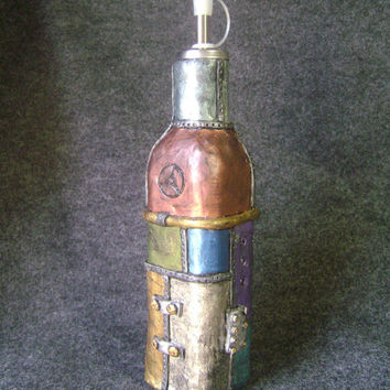 Oil cruet industrial ~ steampunk inspired