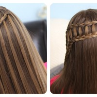 waterfall braid - Google Search