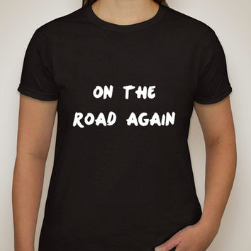 """One Direction """"On The Road Again"""" T-Shirt"""
