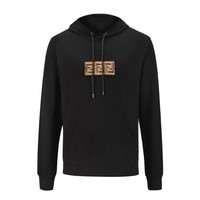 Fendi autumn and winter men's hooded long-sleeved sweater pullover sweatshirt