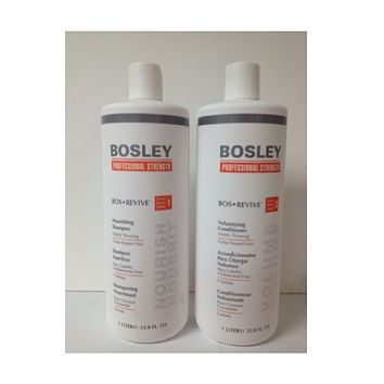 Bosley Bos Revive Shampoo & Conditioner for Color-Treated Hair 33.8 oz Duo