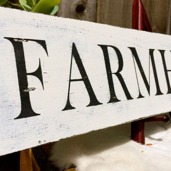 Farmhouse Sign, Kitchen Sign, Country Sign, Rustic Sign, Farm Sign
