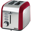 Nesco 2-slice Toaster (red And Chrome)