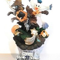 Kingdom Hearts Figure Sora Lion King with Donald and Goofy Disney Rare