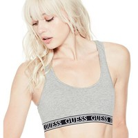 Logo Band Sports Bra at Guess