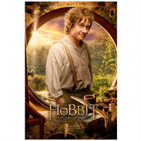 The Hobbit: An Unexpected Journey Bilbo Baggins Close Up Poster | WBshop.com | Warner Bros.