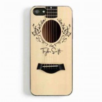 Taylor Swift Guitar for iphone 5 and 5c case