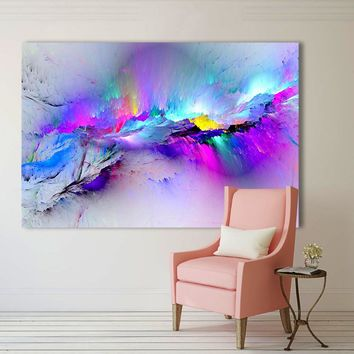 Abstract Clouds Oil Painting Wall Art