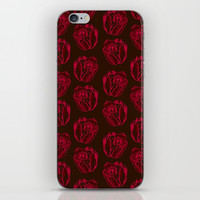 Watercolor Roses | Darkness iPhone & iPod Skin by Sofies Shoppe