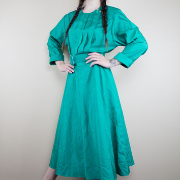 The Grass Is Greener Vintage Dress