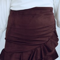 Into The Grove Skirt: Plum