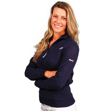 Limited Edition Women's Shep Shirt in Navy by Vineyard Vines - FINAL SALE