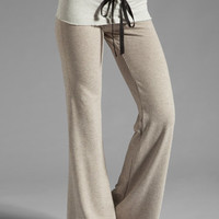 Tylie French Terry Wide Leg Pant in Oat from REVOLVEclothing.com