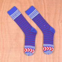 Stance Women's Kilimanjaro Blue Socks