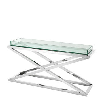 Glass Console Table | Eichholtz Curtis