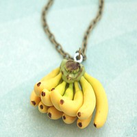 Banana Bunch Necklace