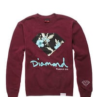 Diamond Supply Co Chill Floral Crew Fleece at PacSun.com