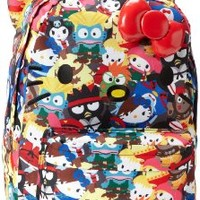 Hello Kitty Streetfighter Backpack,Multi,One Size:Amazon:Shoes