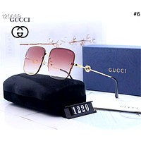 GUCCI 2019 new high-definition men and women driving polarized color film sunglasses #6