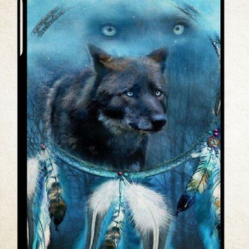 WOLF DREAM CATCHER iPad 2 3 4, iPad Mini 1 2 3, iPad Air 1 2 , Galaxy Tab 1 2 3, Galaxy Note 8.0 Cases