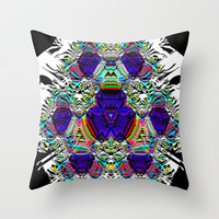 The Ears Have Walls Throw Pillow by K Shayne Jacobson