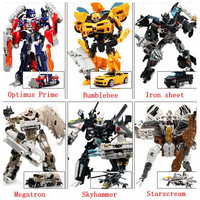 Transformation 4 Optimus Prime Bumblebee Cars Brinquedos Robots Action Figures Classic Toys for boys