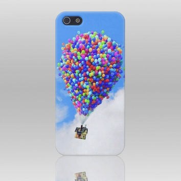 Up  Flying house 01 iphone 4 case iPhone 4s case by TICKandPICK