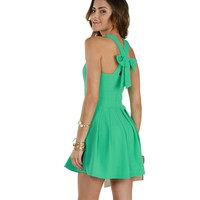 Mint Sunday Brunch Skater Dress