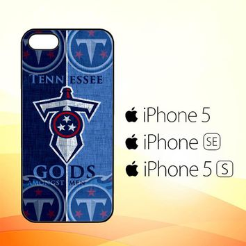 Tennessee Titans logo Z3008  iPhone 5|5S|SE Case