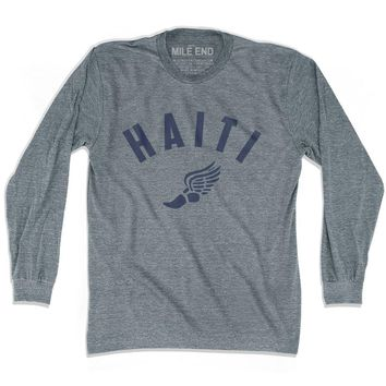 Haiti Track Long Sleeve T-shirt