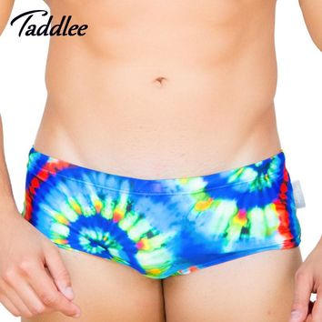 Taddlee Brand 2017 New Sexy Men Swimwear Swimsuits Swimming Briefs Bikini Cut Surf Board Swim Brief Low Rise Summer Suit Beach