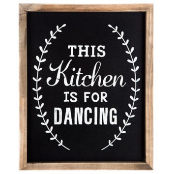 Kitchen Is For Dancing Wood Wall Decor | Hobby Lobby | 1290923