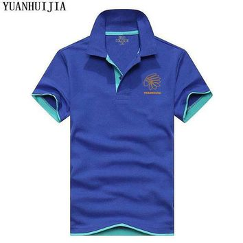 LMFLD1 2018 brand clothing new men's Polo shirts men business leisure men's short sleeves summer hot selling polo shirts free delivery