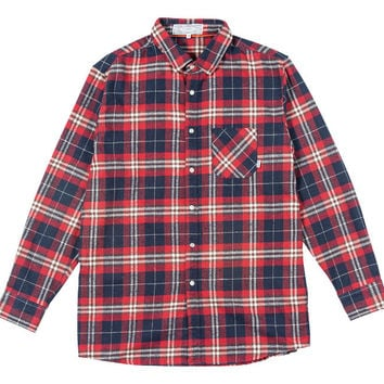 MENS LONG SLEEVE BUTTON UP