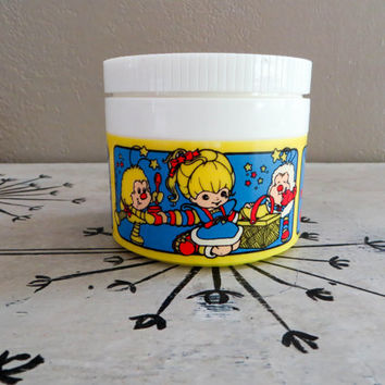 Vintage Thermos Soup Thermos Soup Container Rainbow Brite Thermos Vintage Rainbow Brite Retro Thermos Character Thermos Thermos for Girl