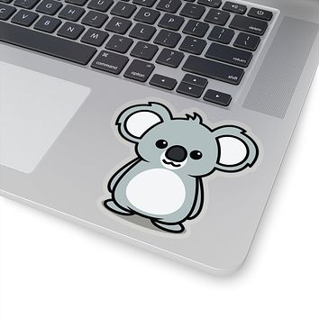 Koala Decal, Koala Sticker, Koala Decal, Koala Sticker, Vinyl Decal, Car Decal, Yeti Decal, Cup Decal, Window Decal, Sticker Decal, Animal Sitcker, Nature Sticker