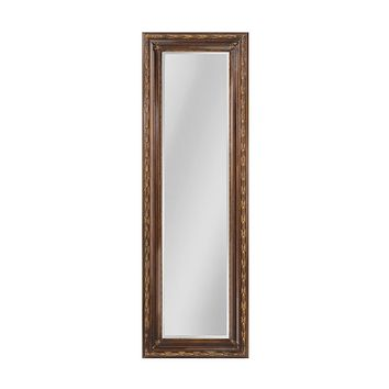 Glenroy Beveled Mirror With Wood Frame