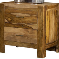 Big Bear Rosewood Nightstand