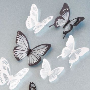 3D Creative Butterflies Wall Decorations Stickers