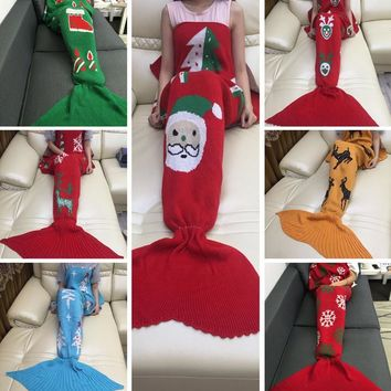 Mermaid Party to Be Adored Blanket Autumn&Winter Gift-7