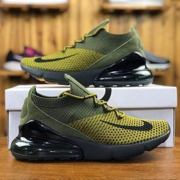 Nike Air Max 270 Flyknit AO1023-003 Sport Running Shoes