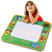 Children Kid Boy Girl Toy Multicolor Writing Cloth Mat With A Pen To Fill In Water
