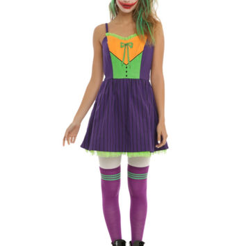 DC Comics The Joker Cosplay Dress