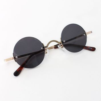Vintage Inspired Round Sunglasses