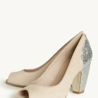 gilda glitter pump by Chelsea Crew at ShopRuche.com
