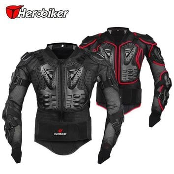 Trendy Professional Motorcycle Jacket Protective Armor Jackets Motocross Clothing Off-Road Protector Motorcycle Full Body Motorbike AT_94_13